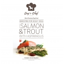 DOG'S CHEF Atlantic Salmon & Trout with Asparagus