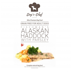 DOG'S CHEF Fischman's Alaskan Haddock with Parsley