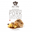 DOG'S CHEF Pork Chops with Apple Puree